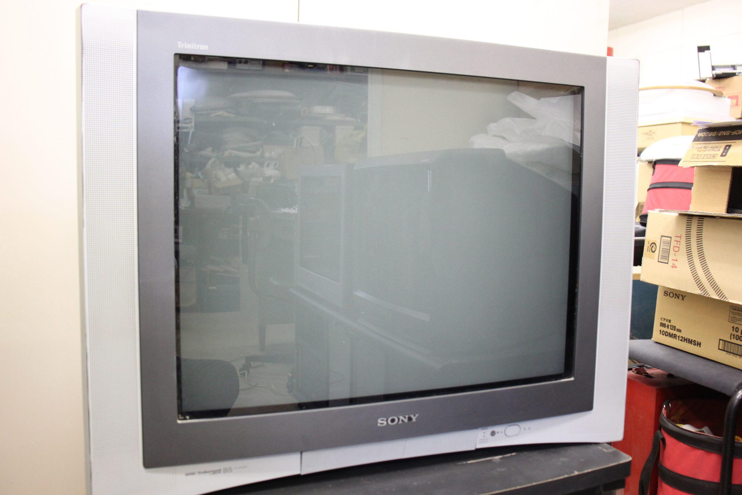 【懐かしの逸品】トリニトロンカラーステレオテレビ