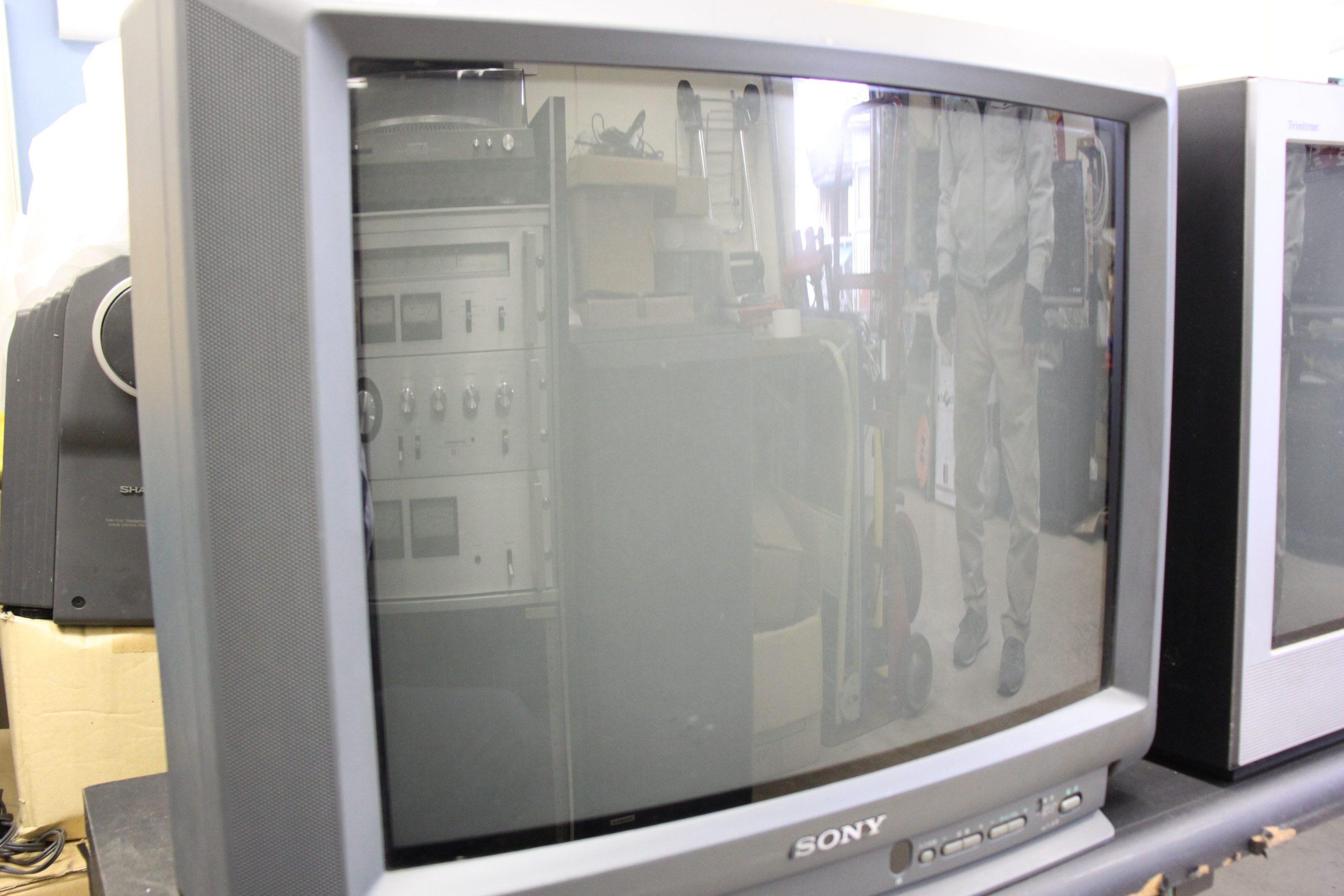 【懐かしの逸品】ソニートリニトロンカラーテレビ
