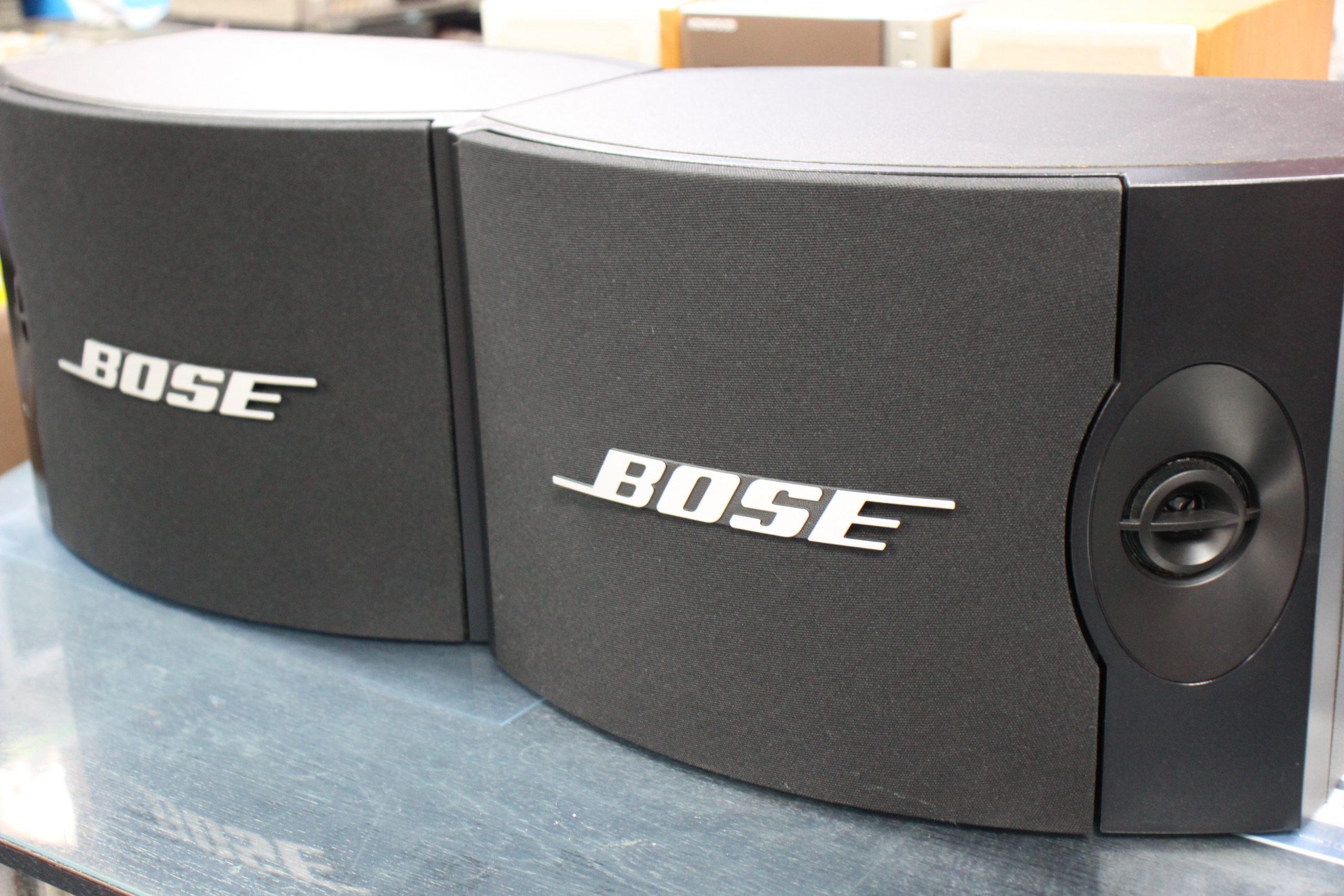【BOSE】ダイレクト/リフレクティングスピーカー301V